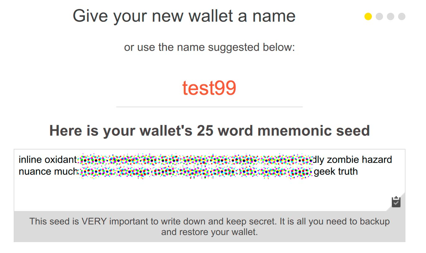 By A Moret How To Creating Your First Wallet